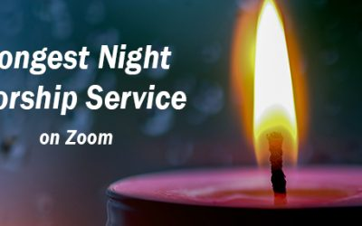 Longest Night Service on Zoom