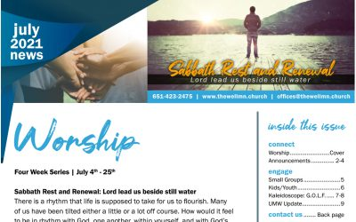 The Well July 2021 Newsletter